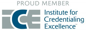 Institute for Credentialing Excellence Member